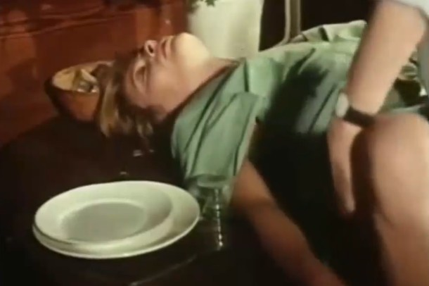Mom and son vintage movie sex scene